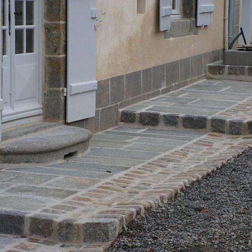 Terrasses pierres